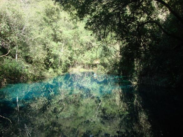 O mistério das águas da Lagoa Misteriosa