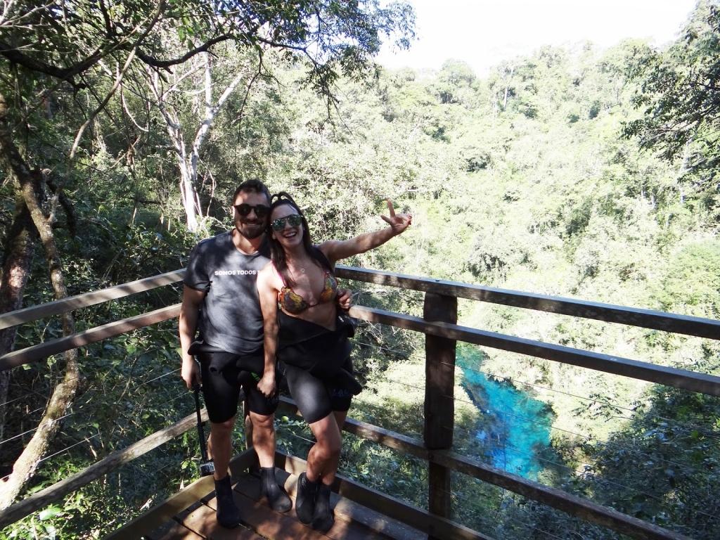 Gabrielle Cardoso e Felipe na Lagoa Misteriosa