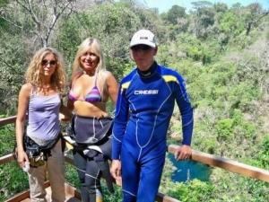 Jornalistas italianos visitam a Lagoa Misteriosa e o Rio da Prata