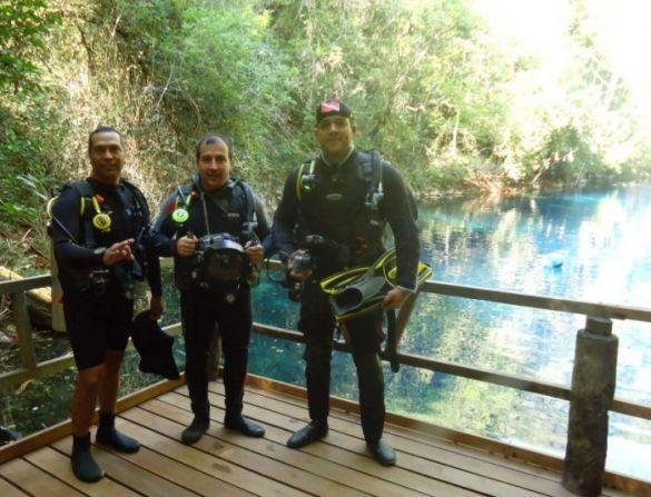 Fotógrafo de natureza visita Lagoa Misteriosa e Rio da Prata para realizar fotos 360º