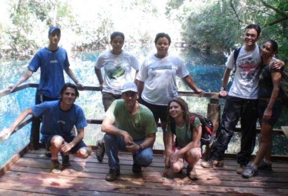 Acadêmicos de Turismo realizam visita técnica na Lagoa Misteriosa e no Rio da Prata
