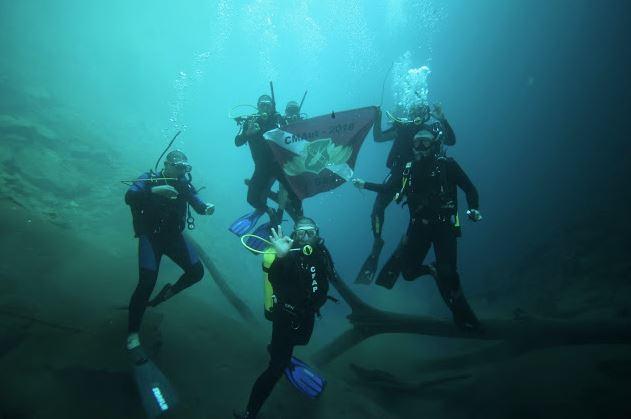 Corpo de Bombeiros realiza treinamento na Lagoa Misteriosa