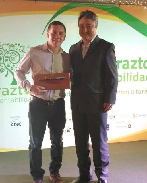 Prêmio Braztoa de Sustentabilidade.