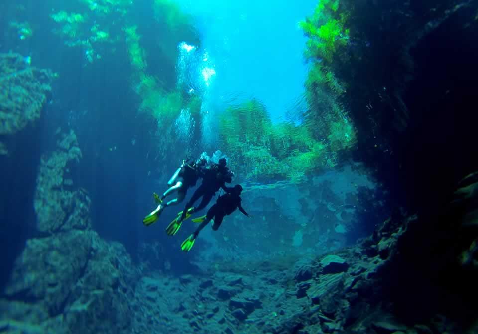 Mergulho com cilindro na Lagoa Misteriosa
